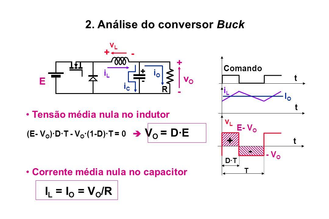 2. Análise do conversor Buck
