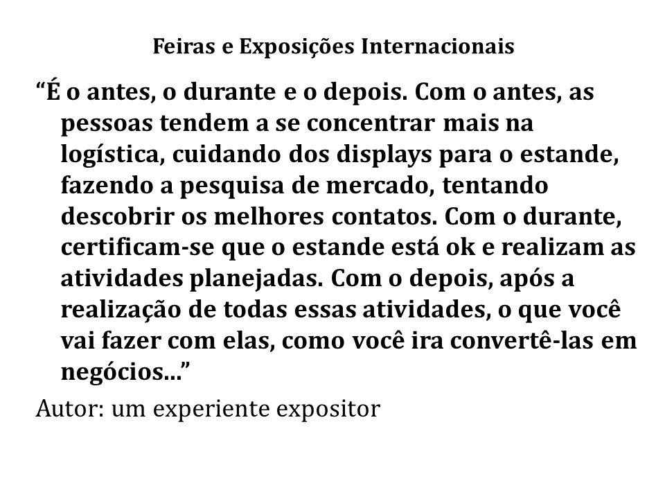 Feiras e Exposições Internacionais