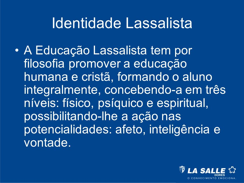 Identidade Lassalista