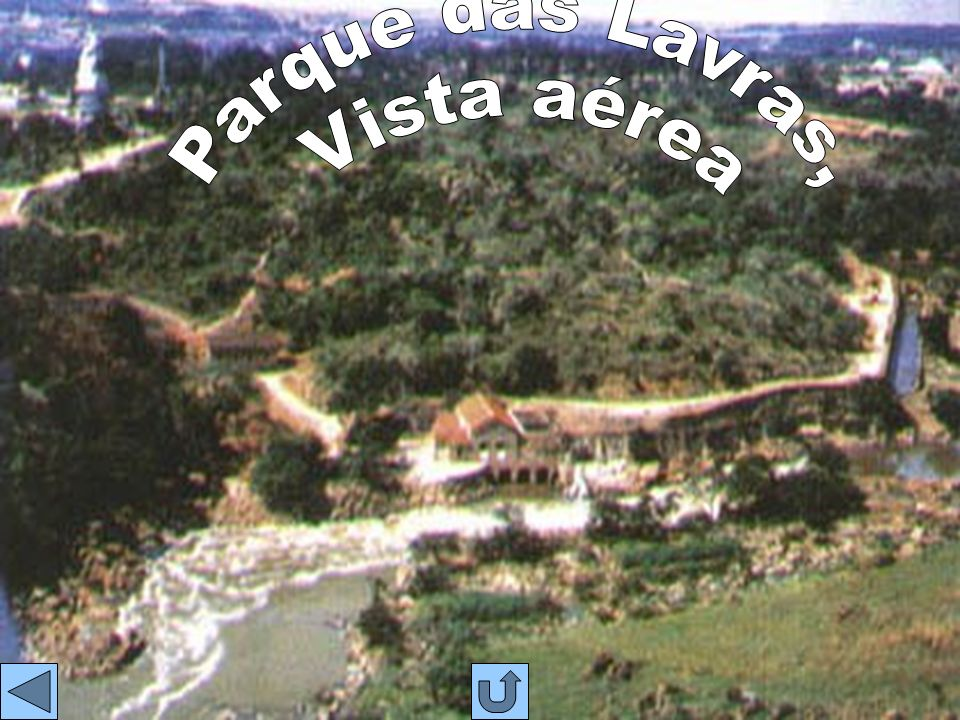 Parque das Lavras, Vista aérea