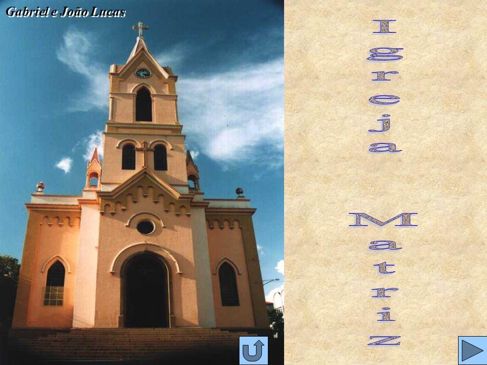 Gabriel e João Lucas Igreja Matriz