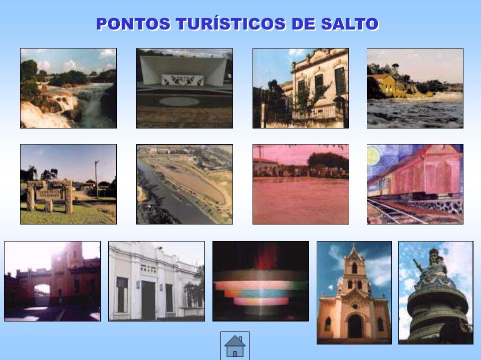 PONTOS TURÍSTICOS DE SALTO
