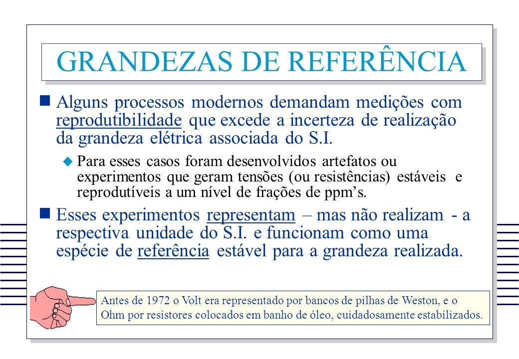 GRANDEZAS DE REFERÊNCIA