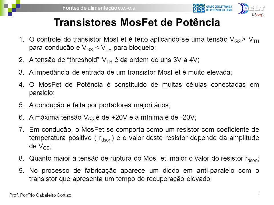 Transistores MosFet de Potência