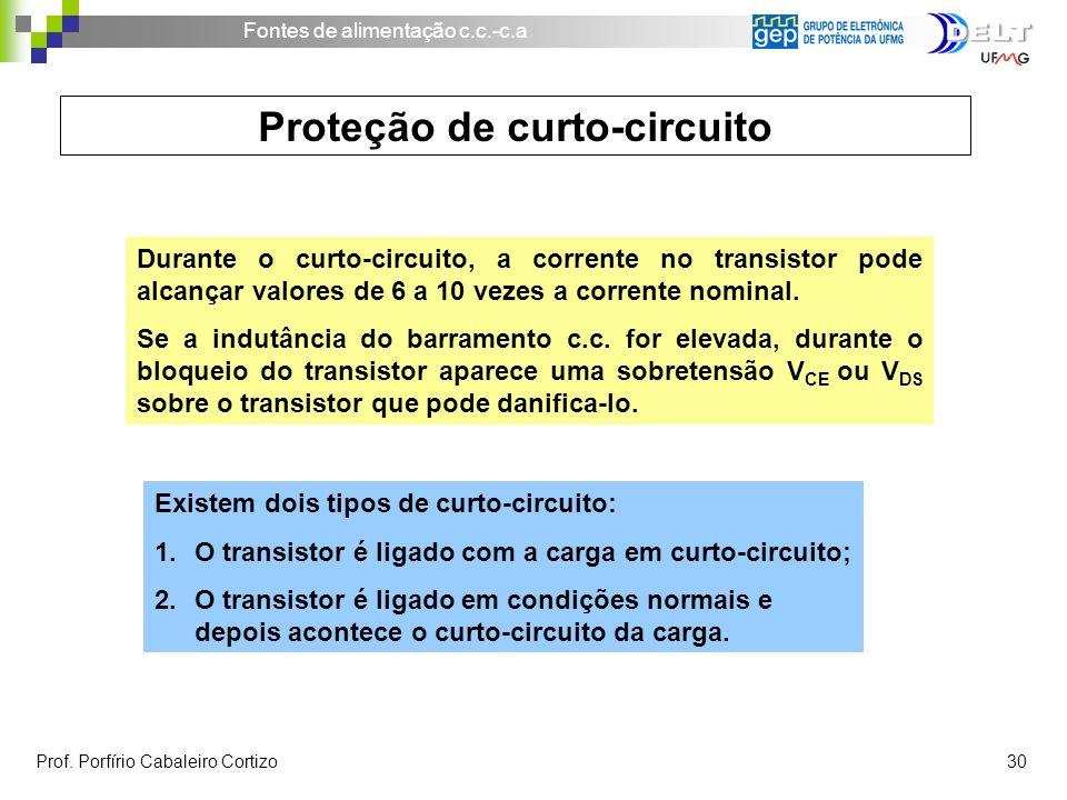 Proteção de curto-circuito