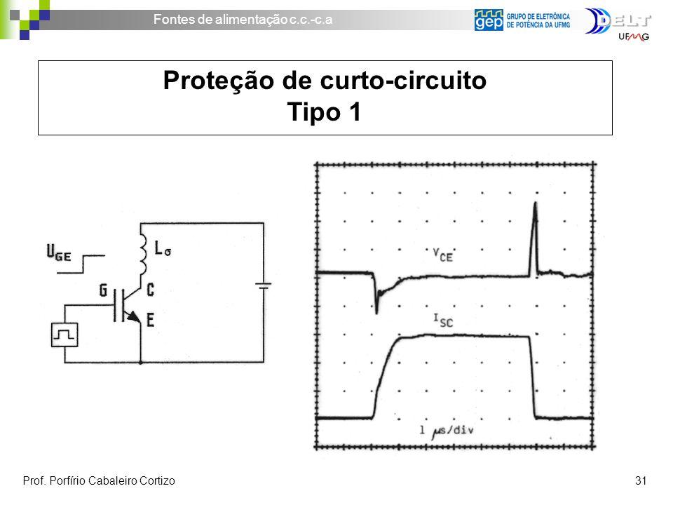 Proteção de curto-circuito Tipo 1