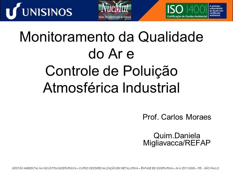 Prof. Carlos Moraes Quim.Daniela Migliavacca/REFAP