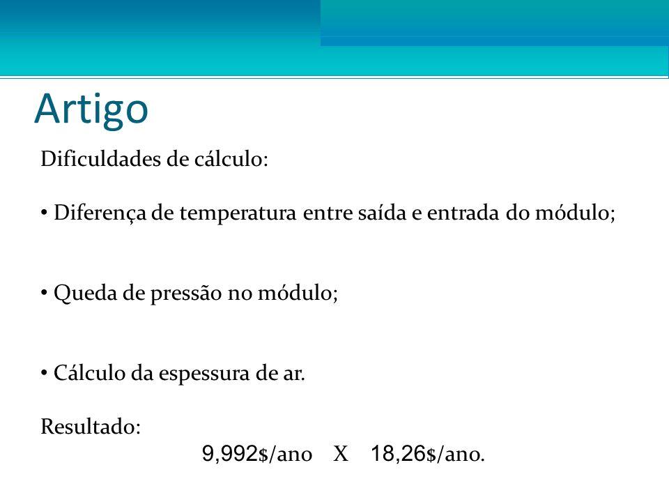 Artigo Dificuldades de cálculo: