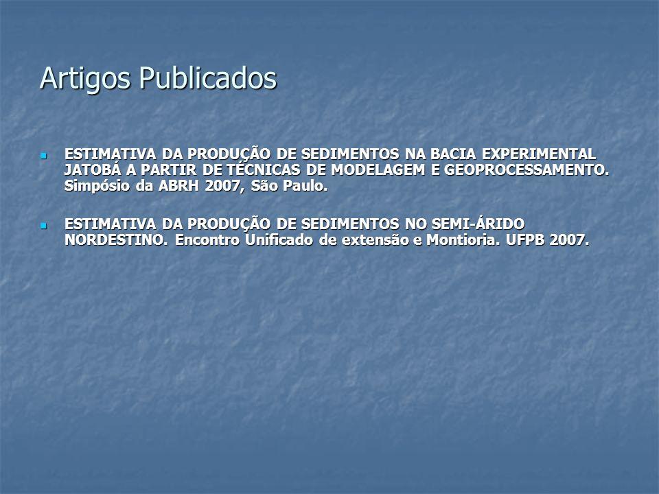 Artigos Publicados