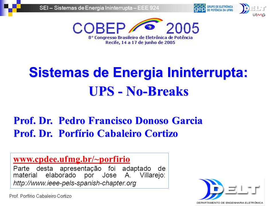 Sistemas de Energia Ininterrupta: