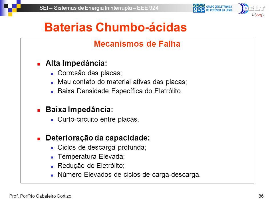 Baterias Chumbo-ácidas