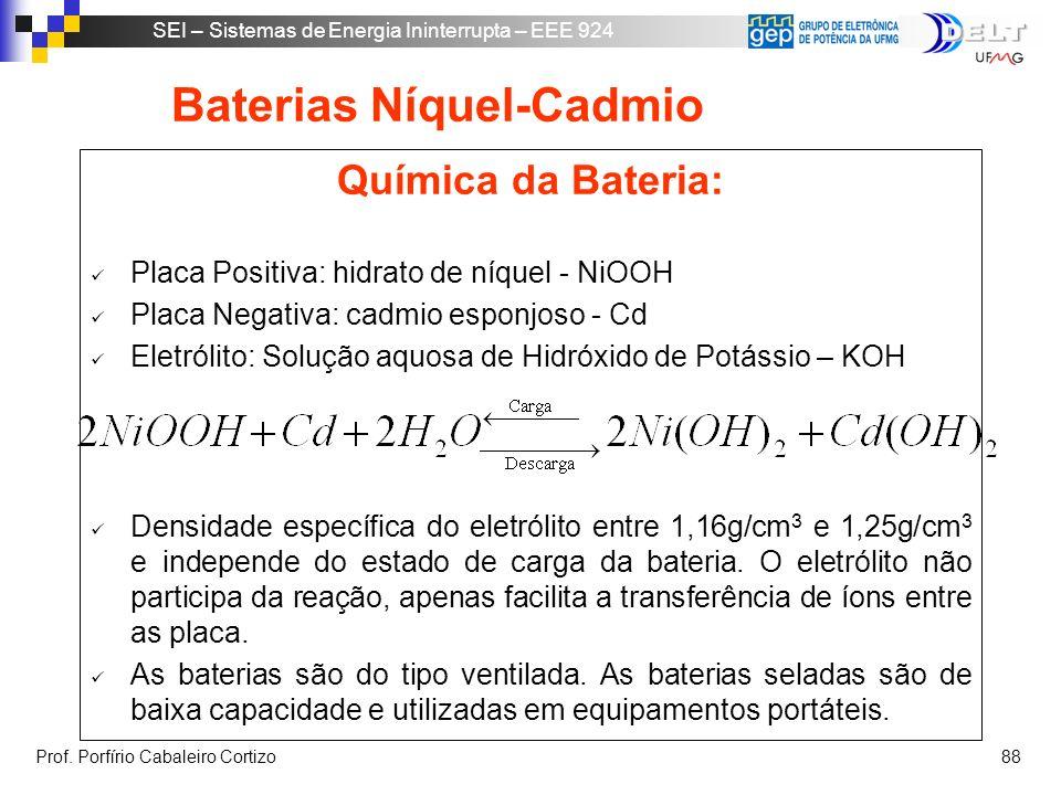 Baterias Níquel-Cadmio