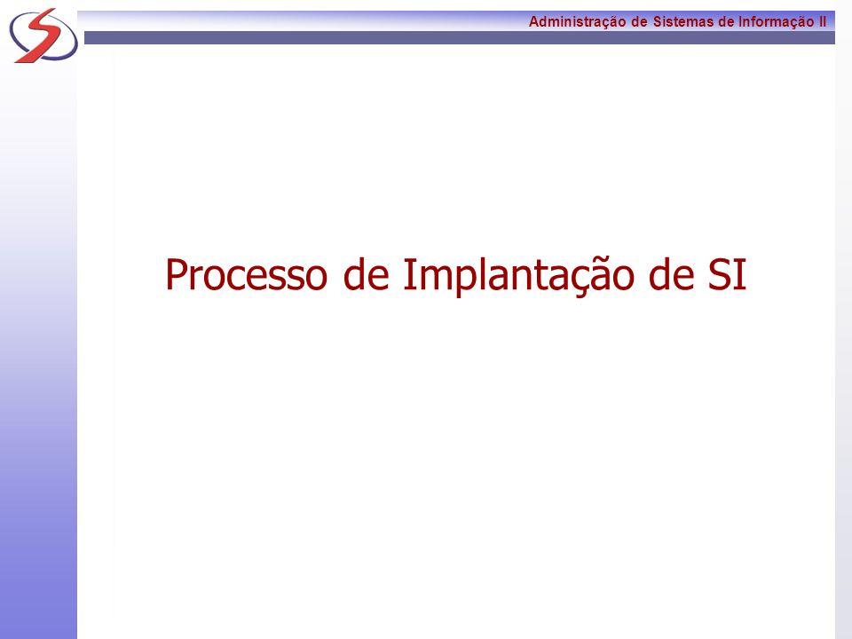 Processo de Implantação de SI