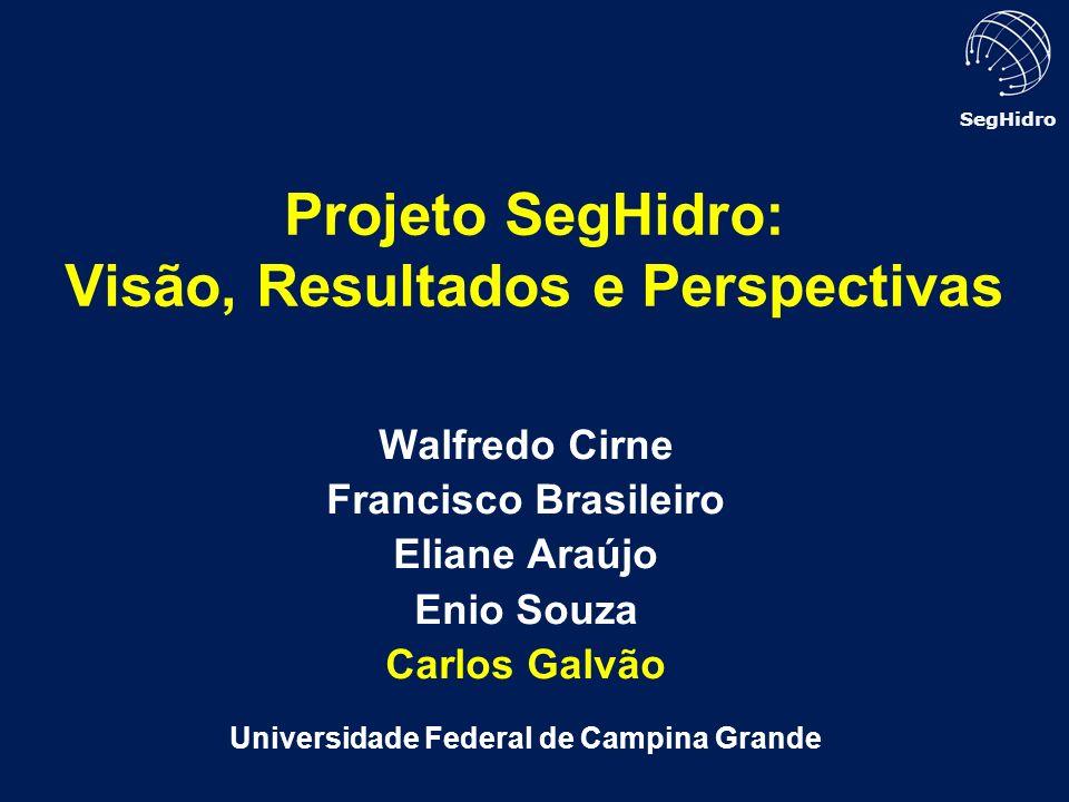 Projeto SegHidro: Visão, Resultados e Perspectivas