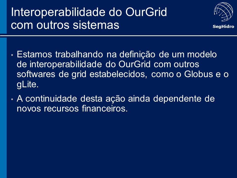 Interoperabilidade do OurGrid com outros sistemas