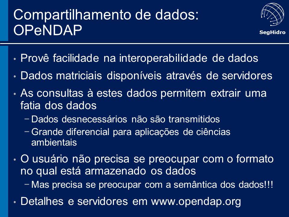 Compartilhamento de dados: OPeNDAP
