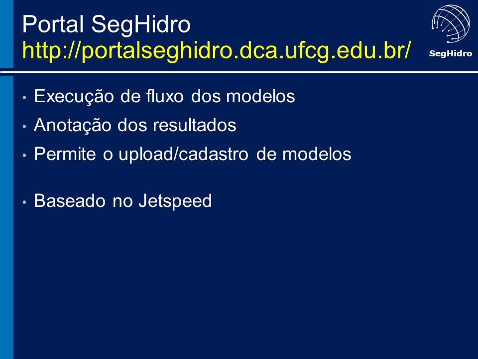 Portal SegHidro http://portalseghidro.dca.ufcg.edu.br/
