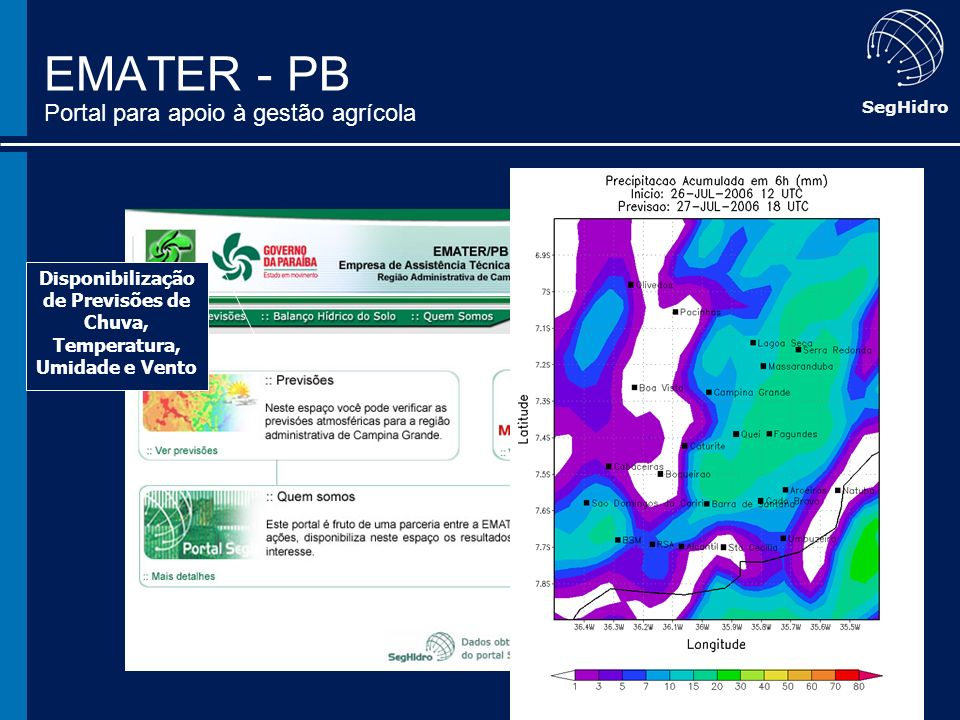 EMATER - PB Portal para apoio à gestão agrícola