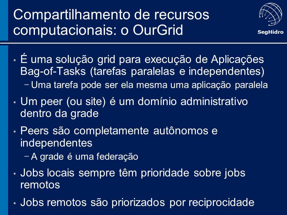 Compartilhamento de recursos computacionais: o OurGrid