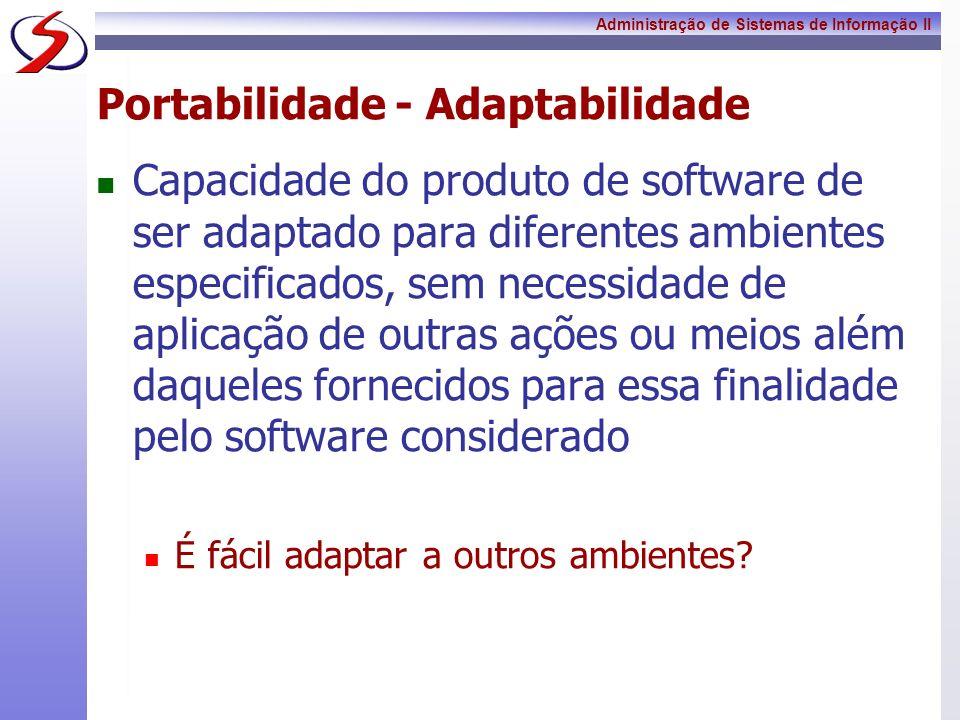 Portabilidade - Adaptabilidade