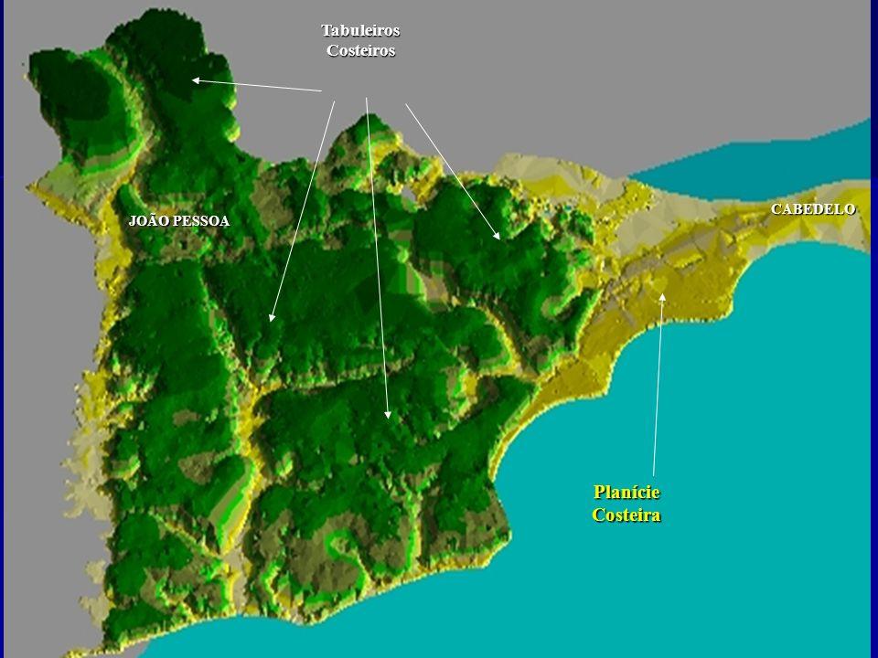 Tabuleiros Costeiros Planície Costeira CABEDELO JOÃO PESSOA
