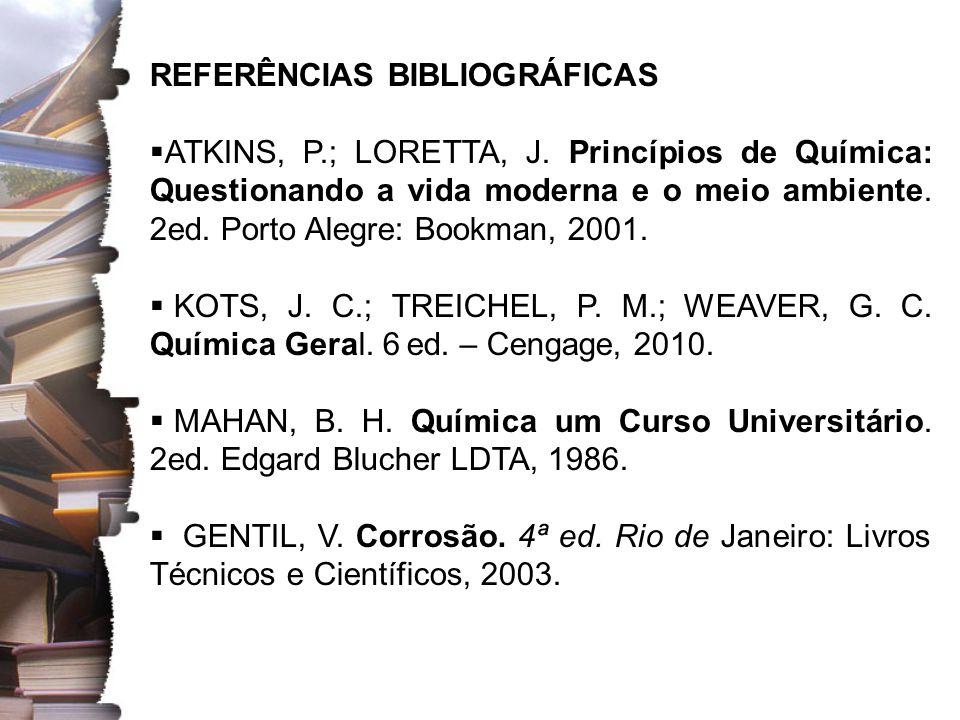 QUÍMICA TECNOLÓGICA Profa. Dra. Aline Rodrigues Soares
