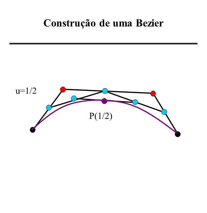 Construção de uma Bezier