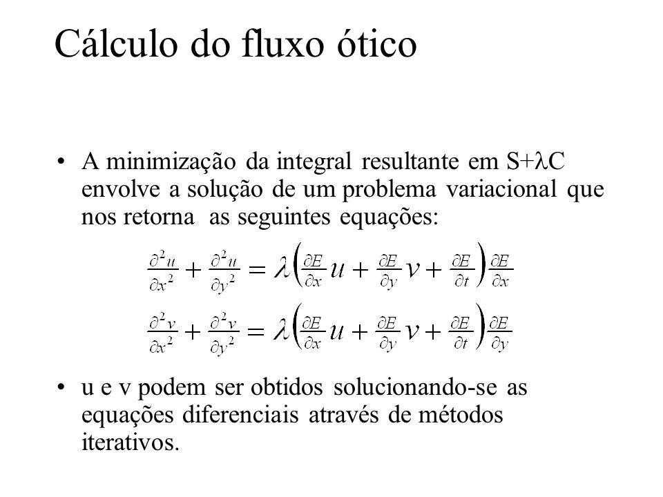 Cálculo do fluxo ótico