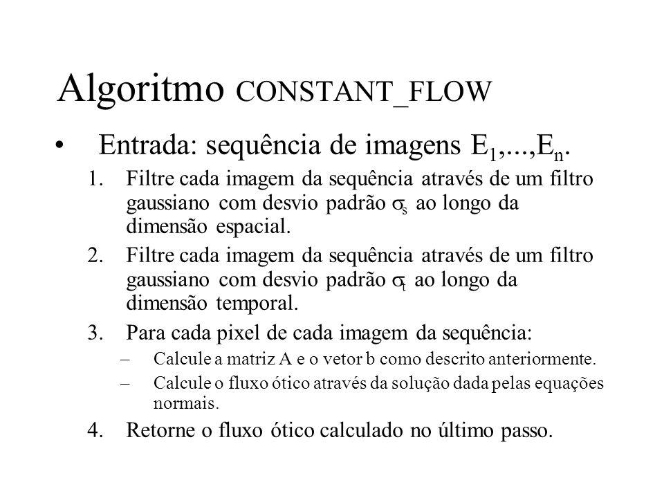 Algoritmo CONSTANT_FLOW