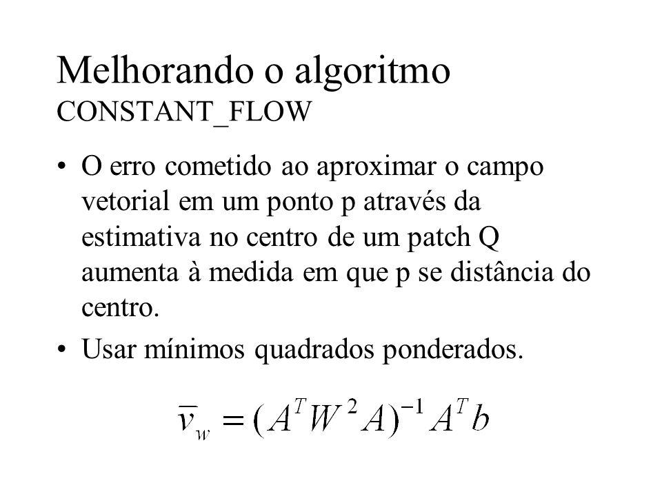 Melhorando o algoritmo CONSTANT_FLOW