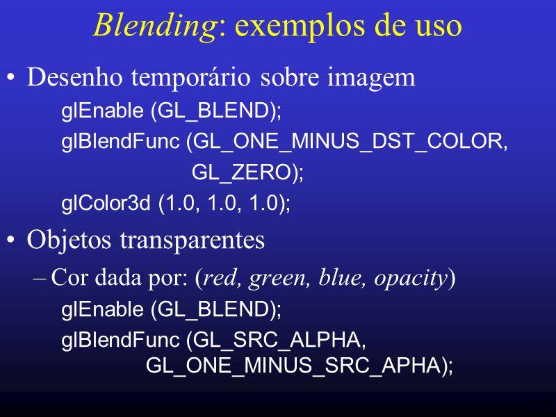 Blending: exemplos de uso