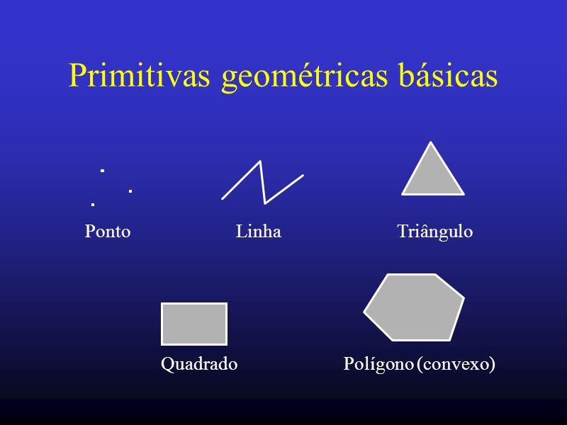 Primitivas geométricas básicas