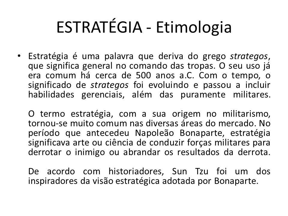 ESTRATÉGIA - Etimologia