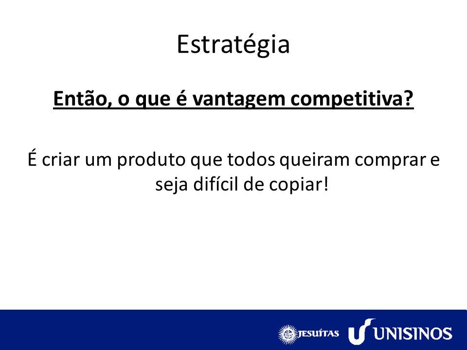 Então, o que é vantagem competitiva