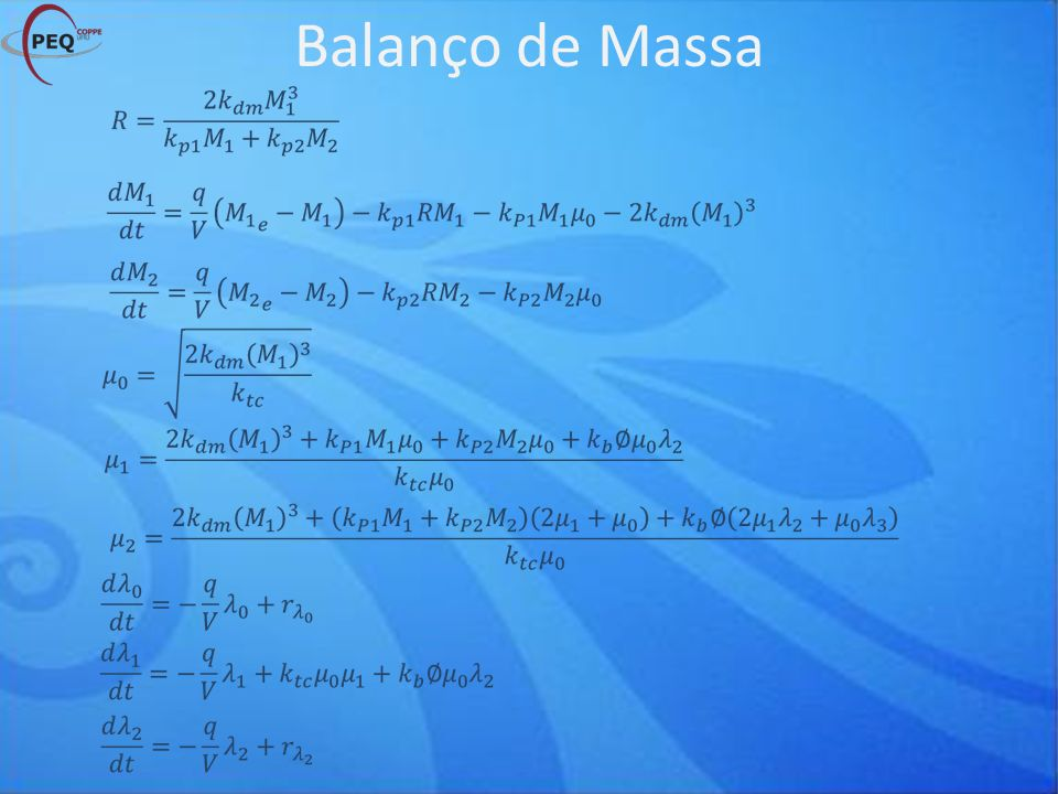 Balanço de Massa