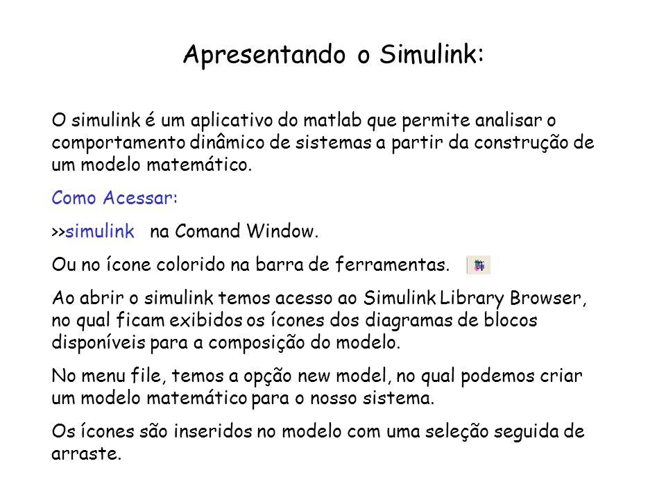 Apresentando o Simulink: