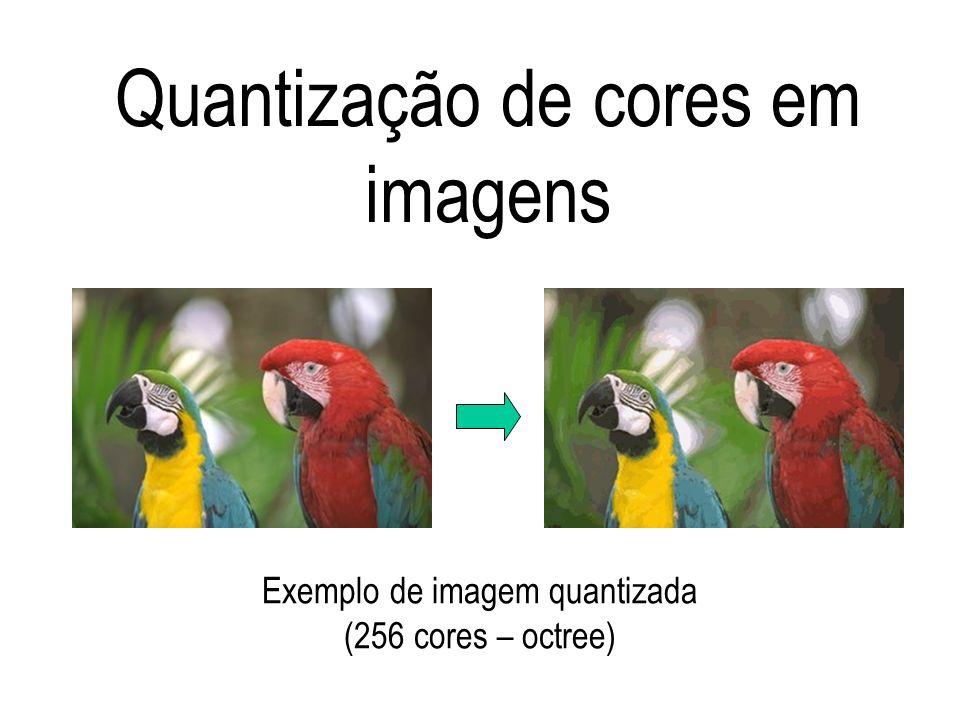 Quantização de cores em imagens