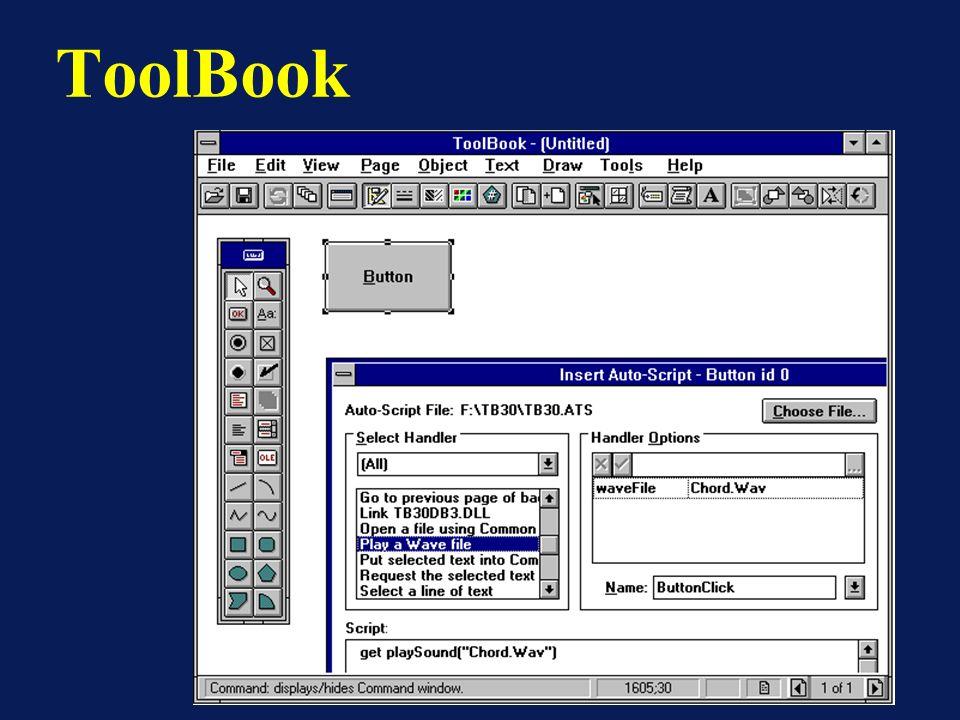 Interfaces Gráficas ToolBook 3/25/2017 Computação Gráfica - Gattass