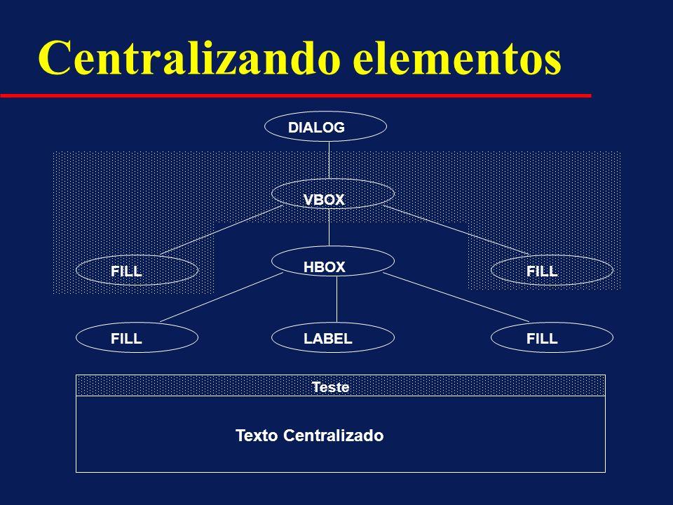 Centralizando elementos