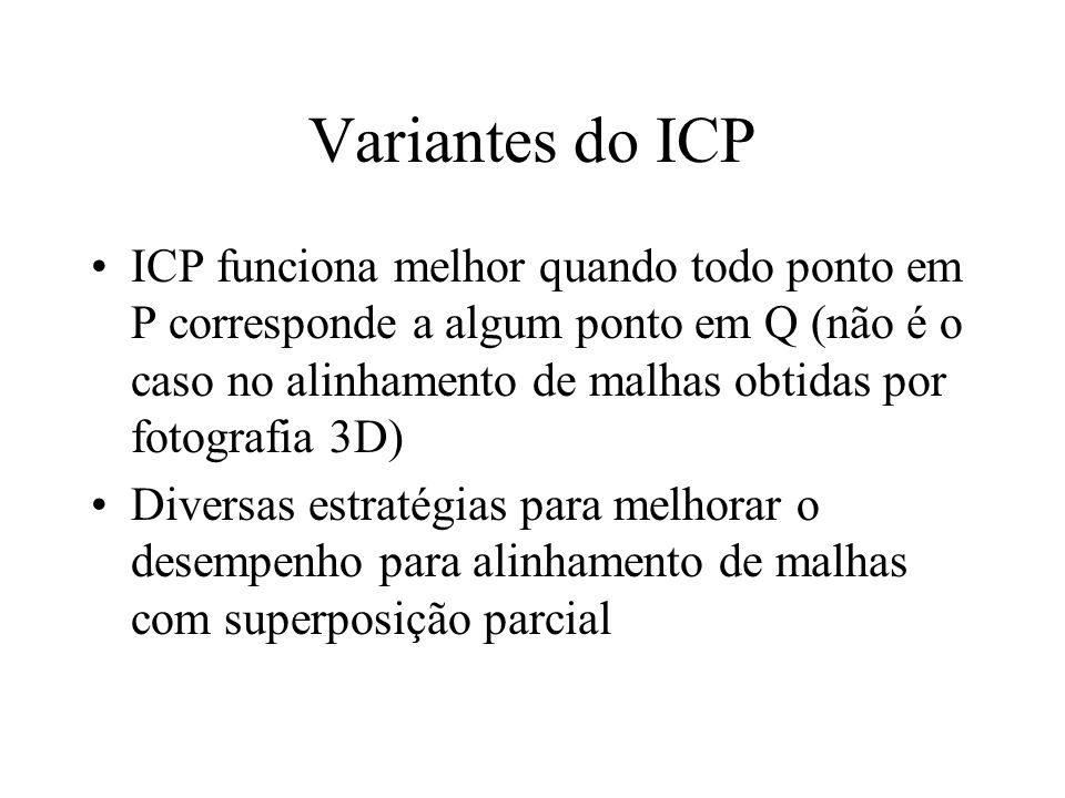 Variantes do ICP