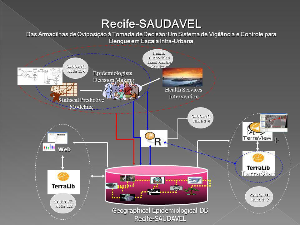 Recife-SAUDAVEL + TerraStat Geographical Epidemiological DB