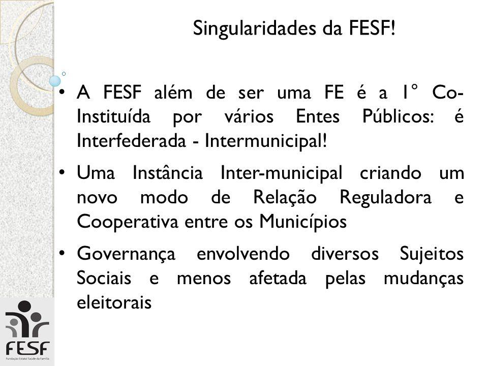 Singularidades da FESF!