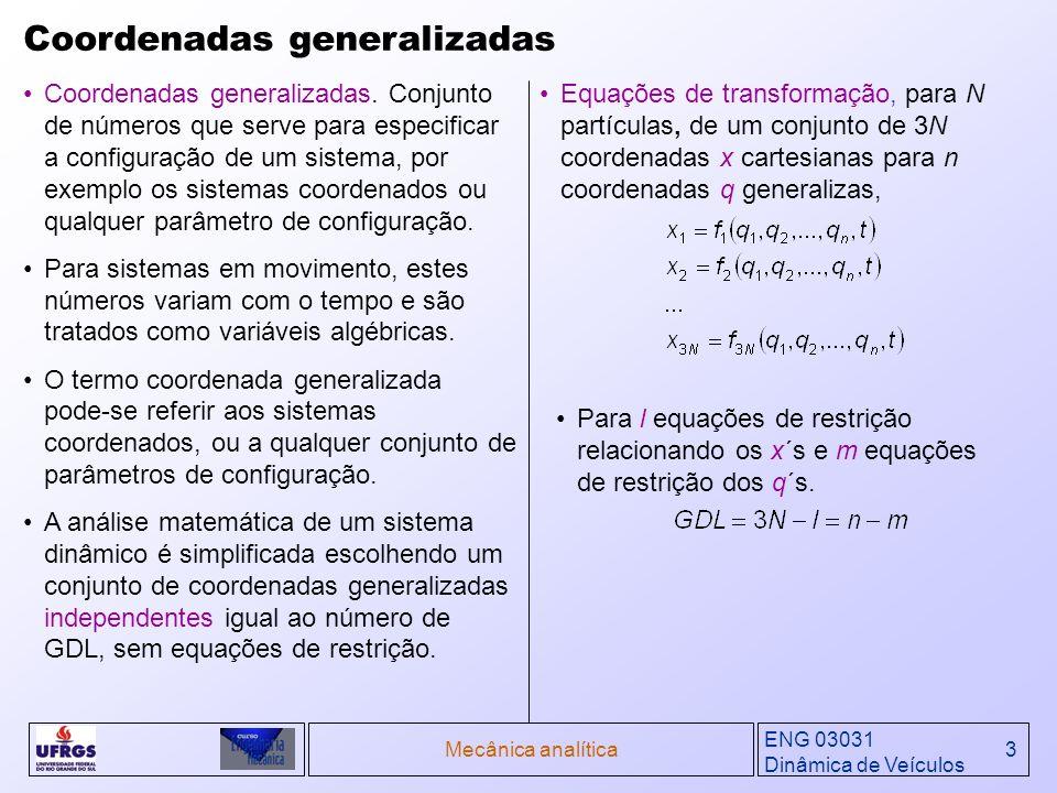 Coordenadas generalizadas