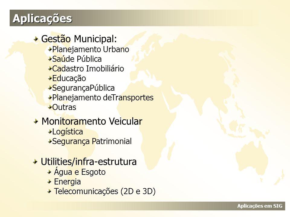 Aplicações Gestão Municipal: Monitoramento Veicular