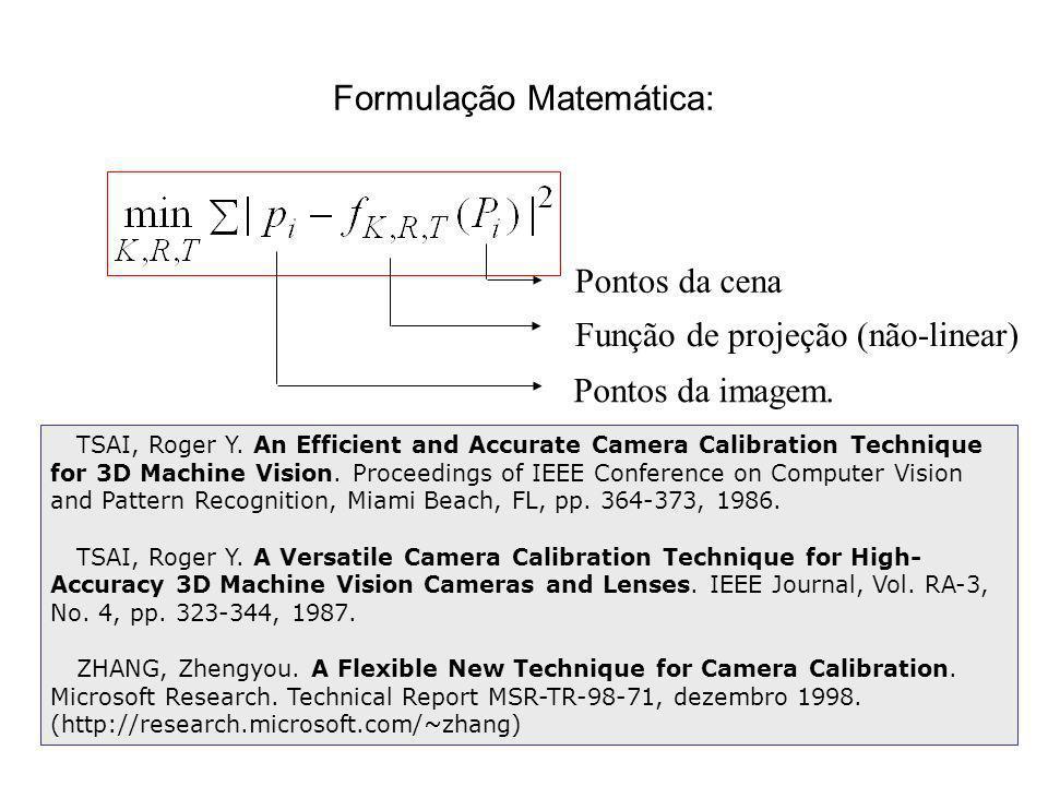Formulação Matemática:
