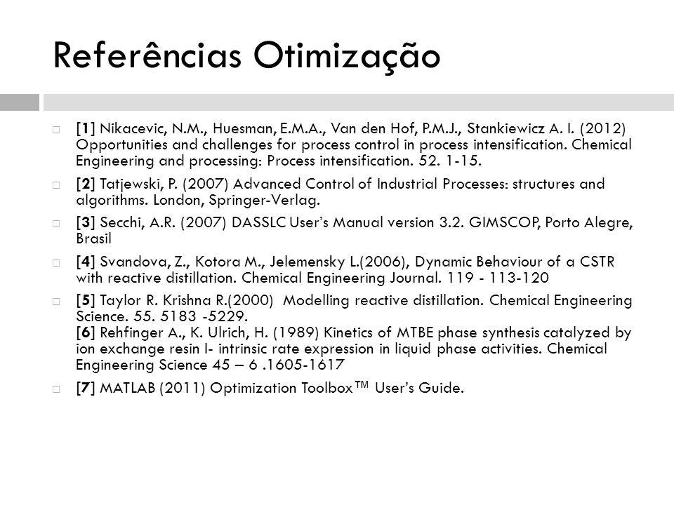 Referências Otimização