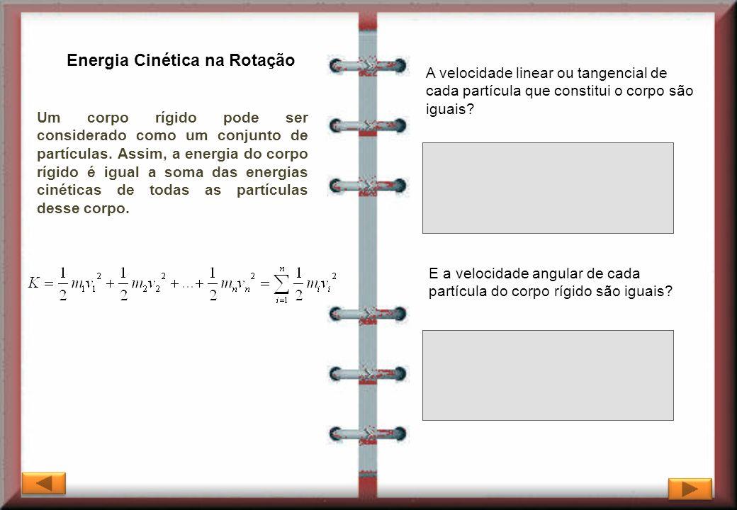 Energia Cinética na Rotação