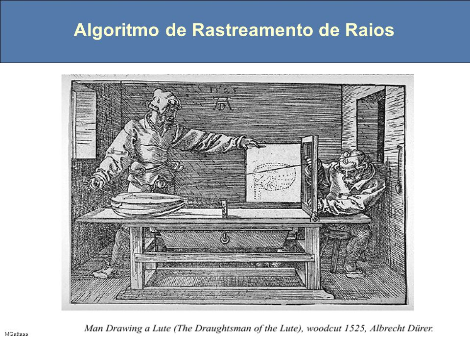 Algoritmo de Rastreamento de Raios