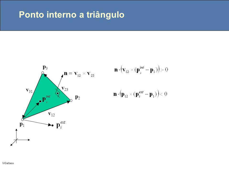 Ponto interno a triângulo