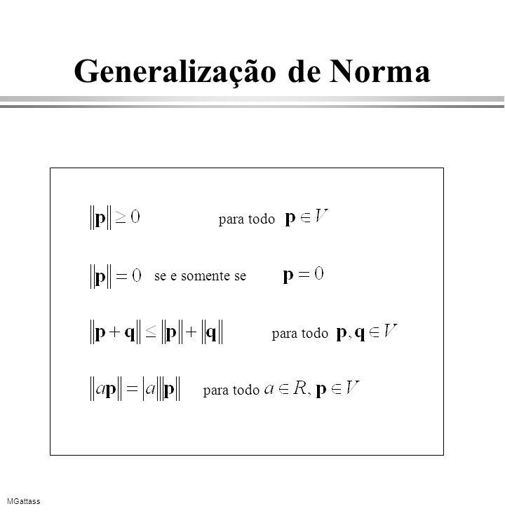 Generalização de Norma